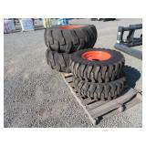 Full Set (4) Kubota Tractor Tires