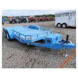 1999 Pac West Flatbed Trailer