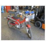 Honda Trail 110 Motorcycle