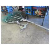 (2) Fishing Nets & Boat Anchor