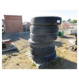 Pallet of Assorted Tires
