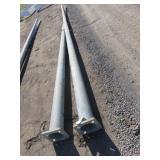 (2) Light Poles