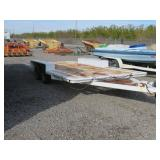Flatbed Dual Axle Trailer