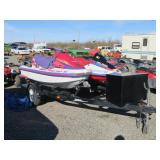(2) Wave Runners & Trailer