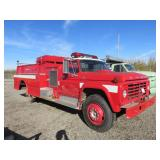 1974 Ford F-750 Howe HRS1 Water Tanker