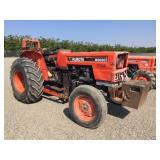 Kubota M8030 Wheel Tractor w/ Forklift Attachment