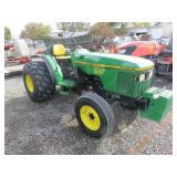 John Deere 5500N Wheel Tractor