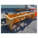 Industrias America 10 F Hydraulic Box Scraper