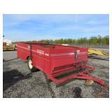 Thomas Hydraulic Dump Bankout Cart