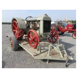 Antique Fordson Model F Tractor & OFF-ROAD Trailer