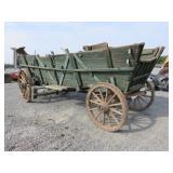 Antique Sooner Wagon