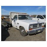 1989 Dodge Ram 350 Flatbed
