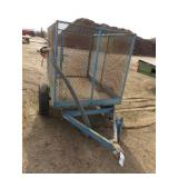 Small Utility Farm Trailer