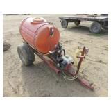 110 Gallon Spray Rig with Honda Gas Engine