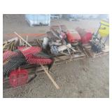 (3) Pallets of Misc. Hand Tools, Pumps, Tanks & Mo