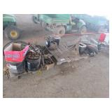 (3) Pallets of Misc. Belts, Liners, Teeth & More