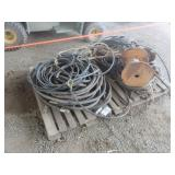 (2) Pallets of Misc. Hydraulic Hose & More