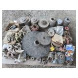 Pallet of Misc. Sprockets, Bearings & More