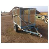 OFF -ROAD Small Utility Farm Trailer