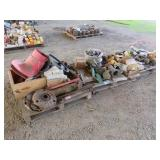 (3) Pallets of Misc. Chain, Pumps, Parts & More