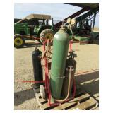 Oxy-Acetylene Torch & Cart