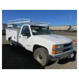 1999 Chevy 3500 with Utility Bed