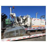 Wirtgen W600 Rumble Strip Machine w/ Custom Traile