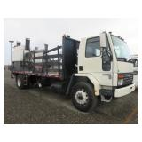 91 Ford CF7000 Thermoplastic Hand Liner Truck
