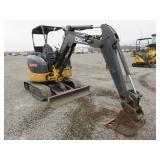 John Deere 27D Mini Excavator w/ Blade