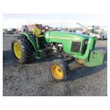 John Deere 5520 Wheel Tractor
