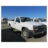 2007 Chevrolet 1500 Single Cab 4X4