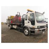 2007 GMC T-7500 Self Contained Pavement Marker