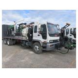 RESERVE -See Below 2002 GMC T7500  Water Blaster
