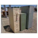 (3) Assorted Filing Cabinets