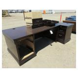 Computer Desk and Side Desk