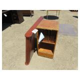 "Lot of ""Key Cabinet"" and Wooden File Storage"