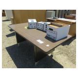Computer Desk and Cameras