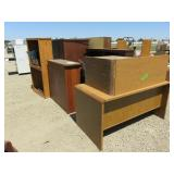 Assorted Office Furniture and Book Shelves