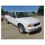 1997 GMC Sonoma Extra Cab