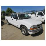 2001 Chevy S10 Extra Cab