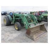 John Deere 5500N Wheel Tractor with Loader