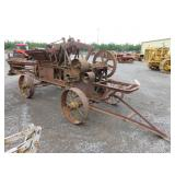 Antique John Deere Hay Baler