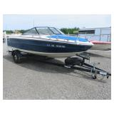 1983 Beacucraft Boat and Trailer