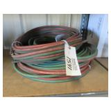 Lot of Assorted Oxygen Acetylene Hoses