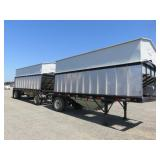 Set of Reliance Hopper Trailers