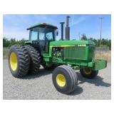 1988 John Deere 4650 Wheel Tractor