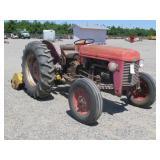 Massey Ferguson Wheel Tractor with Virismo Mower