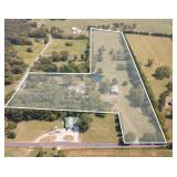 17 Acres in 5 Tracts & A Fine Home