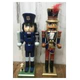 Drummer Boy and Police Officer Nutcrackers