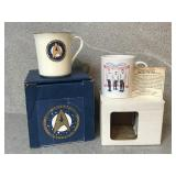 Two Collectable Star Trek Mugs